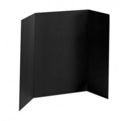 36 x 48 - Heavy Duty Black Tri Fold Display Board (18 Boards / Box) $4.95 ea