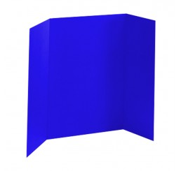 36 x 48 - Heavy Duty Dark Blue Tri Fold Display Board (18 Boards / Box) $4.95 ea