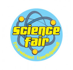 Science Fair Participant Button - I'm A Winner