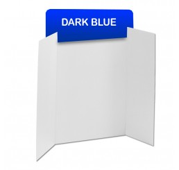 Dark Blue Corrugated Header Boards