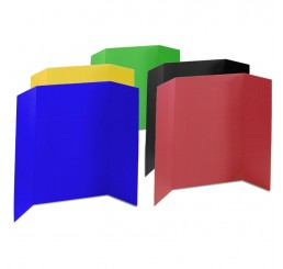 36 x 48 - Heavy Duty Assorted Tri Fold Display Board (18 Boards / Box) $4.95 ea