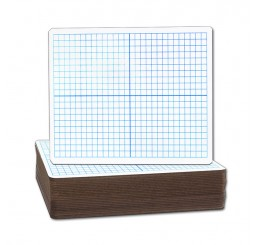 Dry Erase Boards - 9x12 Dual Sided XY Axis