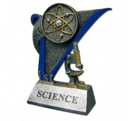 Science Fair Award Trophy - 1st Place Science