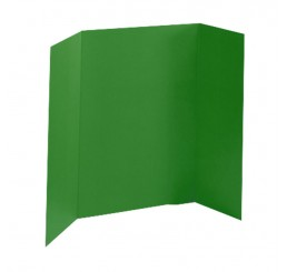 36 x 48 - Heavy Duty Green Tri Fold Display Board (18 Boards / Box) $4.95 ea