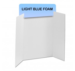 Light Blue Foam Header Boards