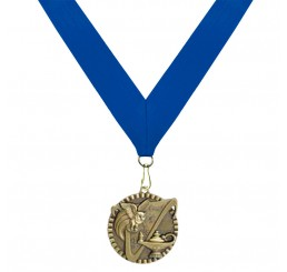 Antique Gold General Knowledge Medal - First Place