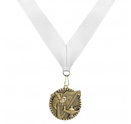 Antique Gold General Knowledge Medal - Third Place