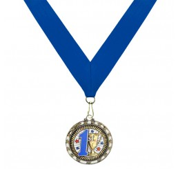 Holographic Science Medal - First Place w/ Blue Ribbon