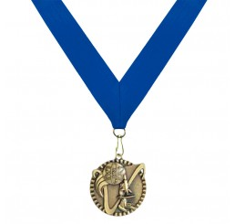 Antique Gold Science Medal - First Place