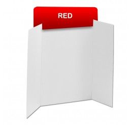 Red Corrugated Header Boards