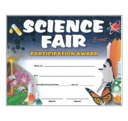 Science Certificates - Rocket