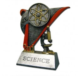 Science Fair Award Trophy - 2nd Place Science