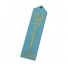Custom Standard Ribbon - Honorable Mention - Light Blue