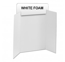 White Foam Header Boards