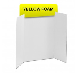 Yellow Foam Header Boards