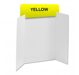 Yellow Corrugated Header Boards