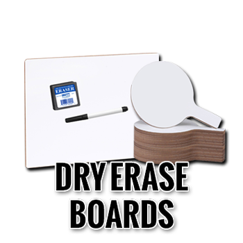 Dry Erase Boards and Paddles